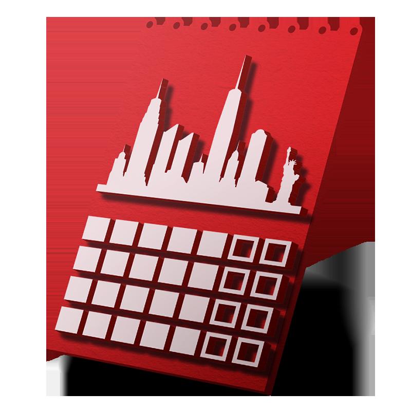 Stolní kalendáře se spirálou